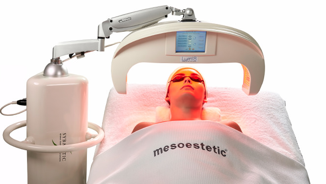 lichttherapie lumi8 led therapie